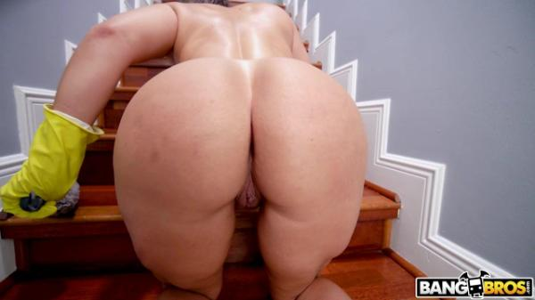 My Dirty Maid Carmela Clutch –  Big  Booty  Maid  Sucks and  Fucks
