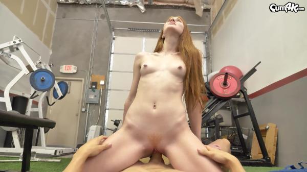 Cum 4K – Jane Rogers Jizzed Gym – Creamy Strokes